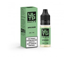 ULTD Nic Salts | APPLE BLOW | 10ml Single | 10mg / 20mg Nicotine Salt