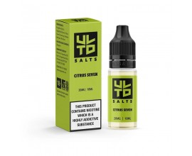 ULTD Nic Salts | CITRUS SEVEN | 10ml Single | 10mg / 20mg Nicotine Salt