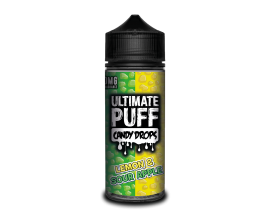 Ultimate Puff Candy Drops | Lemon & Sour Apple | 100ml Shortfill | 0mg Nicotine