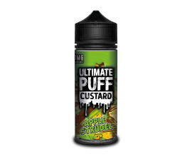 Ultimate Puff Custard | Apple Strudel | 100ml Shortfill | 0mg Nicotine