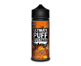 Ultimate Puff Custard | Maple Syrup | 100ml Shortfill | 0mg Nicotine