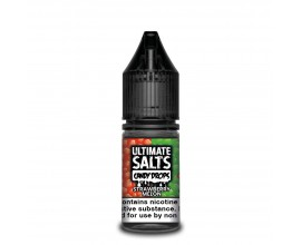 Ultimate Salts Candy Drops | Strawberry Melon | 10ml Single | 10mg / 20mg Nicotine Salt