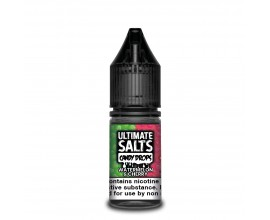 Ultimate Salts Candy Drops | Watermelon & Cherry | 10ml Single | 10mg / 20mg Nicotine Salt