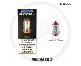 UWELL | Nunchaku Coils | 0.2 Ohm Honeycomb Mesh UN2 | Pack of 4