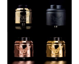 Vaperz Cloud | Valhalla Dual Coil RDA | 38mm | 2019 Revised Edition