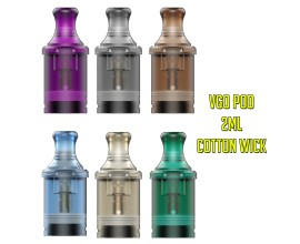 Vapmor | VGO Replacement Pod | Cotton Coil | 1.0 Ohm | 1 x Single