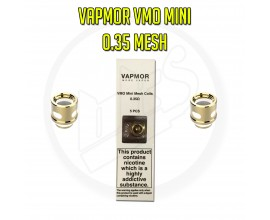 Vapmor - VMO Mini Coils for VGO Sub-Ohm Tank - Pack of 5 - 0.35 Ohm Mesh