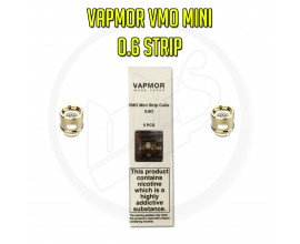 Vapmor - VMO Mini Coils for VGO Sub-Ohm Tank - Pack of 5 - 0.6 Ohm Strip