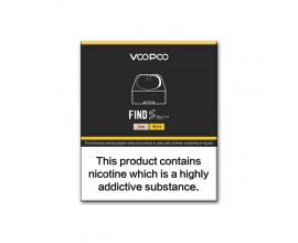 Voopoo - FIND Trio Replacment Pods - Pack of 4 (No Coil)