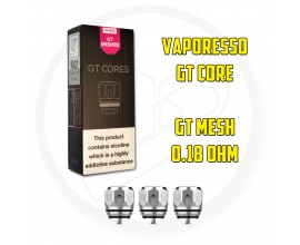 Vaporesso - GT Core Coils - GT MESH - 0.18 Ohm - Pack of 3