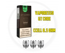 Vaporesso - GT Core Coils - CCELL - 0.5 Ohm - Pack of 3