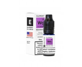 Element E-Liquids Traditional 50/50 Range | Watermelon Chill | 10ml Single | Various Nicotine Strengths
