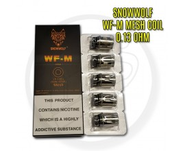Snowwolf - WF-M Coils - 0.13 Ohm Mesh (50-120W) - Pack of 5