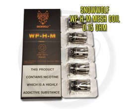 Snowwolf - WF-H-M Coils - 0.15 Ohm Mesh (70-160W) - Pack of 5