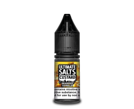 Ultimate Salts Custard | Whipped Vanilla | 10ml Single | 10mg / 20mg Nicotine Salt