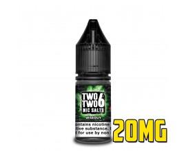 226 Nic Salts - NS20 - WISE GUY - 10ml Single - 20mg