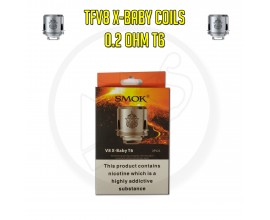 SMOK | TFV8 X-Baby Coils | 0.2 Ohm T6 | Pack of 3