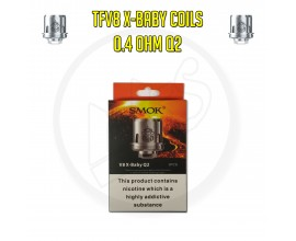 SMOK TFV8 X-Baby Coils - 0.4 Ohm Q2 (Pack of 3)
