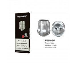 Freemax | X Mesh Coils | 0.5 Ohm NX2 Double Mesh | Pack of 5