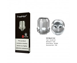 Freemax | X Mesh Coils | 0.2 Ohm X2 Double Mesh | Pack of 5