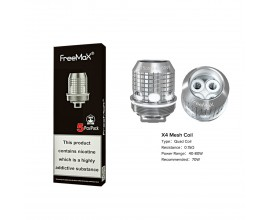 Freemax | X Mesh Coils | 0.15 Ohm X4 Quad Mesh | Pack of 5