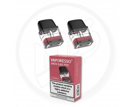 Vaporesso | XROS Replacement Pods | 2ml | 0.8 Ohm Mesh | Pack of 2