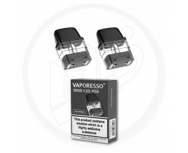 Vaporesso | XROS Replacement Pods | 2ml | 1.2 Ohm Mesh | Pack of 2