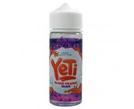 Yeti E-Liquids | Blood Orange Grape | 100ml Shortfill | 0mg Nicotine