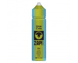 ZAP! Juice Cola Collection | Lime | 50ml Shortfill | 0mg (Includes 1 x 18mg ZAP! Nic Salt Shot)