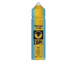 ZAP! Juice - Cola Collection - MANGO - 50ml Shortfill - ZERO Nicotine (Includes 1 x 18mg ZAP! Nic Salt Shot)