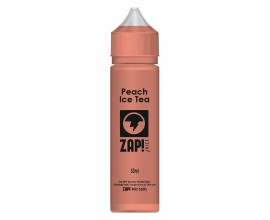 ZAP! Juice | Peach Ice Tea | 50ml Shortfill | 0mg (Includes 1 x 18mg ZAP! Nic Salt Shot)