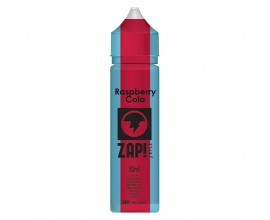 ZAP! Juice - Cola Collection - RASPBERRY - 50ml Shortfill - ZERO Nicotine (Includes 1 x 18mg ZAP! Nic Salt Shot)