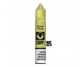 ZAP! Juice Nicotine Salts | Snow Pear | 10ml Single | 10mg / 20mg Nicotine Salt