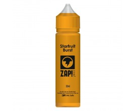 ZAP! Juice - Starfruit Burst - 50ml Shortfill - ZERO Nicotine (Includes 1 x 18mg ZAP! Nic Salt Shot)