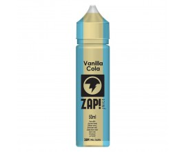 ZAP! Juice Cola Collection | Vanilla | 50ml Shortfill | 0mg (Includes 1 x 18mg ZAP! Nic Salt Shot)