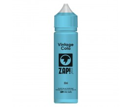 ZAP! Juice - Vintage Cola - 50ml Shortfill - ZERO Nicotine (Includes 1 x 18mg ZAP! Nic Salt Shot)