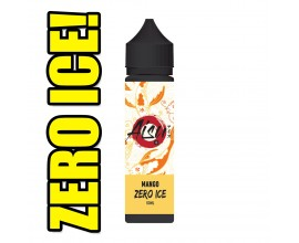 Aisu Zero Ice | Mango | 50ml Shortfill | 0mg (Includes 1 x 18mg ZAP! Nic Salt Shot)