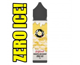 Aisu Zero Ice | Yoguruto Pineapple & Coconut | 50ml Shortfill | 0mg (Includes 1 x 18mg ZAP! Nic Salt Shot)
