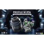 Wotofo x MrJustRight1 | Profile M RTA | 24.5mm Mesh RTA | 2ml | **COMING SOON**