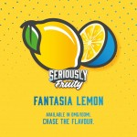 Seriously Fruity by Doozy Vape Co | Fantasia Lemon | 100ml Shortfill | 0mg