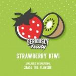 Seriously Fruity by Doozy Vape Co | Strawberry Kiwi | 100ml Shortfill | 0mg
