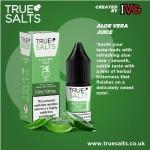True Salts | Aloe Vera Juice | 10ml Single | 10mg / 20mg Nicotine Salts