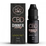 CBD Dinner Lady - 10ml E-Liquid - LEMON TART