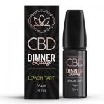 CBD Dinner Lady - 30ml E-Liquid - LEMON TART