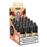 Fresh Vape Co Salts | Downtown Central | 10ml Single | 10mg / 20mg Nicotine Salts