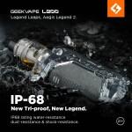 Geek Vape   Aegis Legend 2 L200 Kit   200W   2ml Zeus / Z 2021 Tank