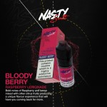 Nasty Salts | Bloody Berry | 10ml Single | 10mg / 20mg Nicotine Salts