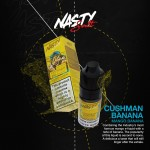 Nasty Salts | Cushman Banana | 10ml Single | 10mg / 20mg Nicotine Salts