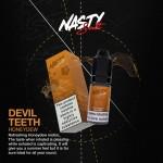 Nasty Salts | Devil Teeth | 10ml Single | 10mg / 20mg Nicotine Salts