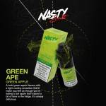 Nasty Salts | Green Ape | 10ml Single | 10mg / 20mg Nicotine Salts